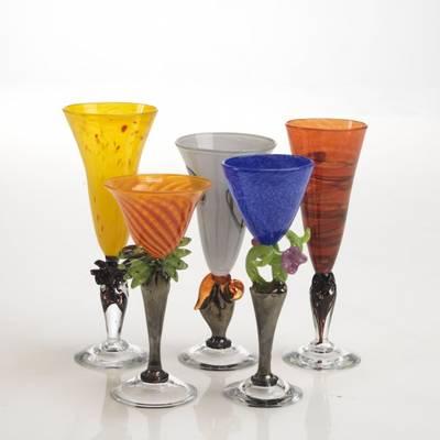 Kunstglass - Musling